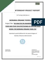 morarka summer internship