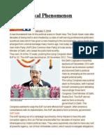 The Kejriwal Phenomenon