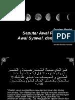 Seputar Awal Ramadhan, Awal Syawal, dan Idul Adha