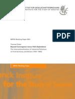 Thomas Fetzer - Beyond Convergence Versus Path Dependence