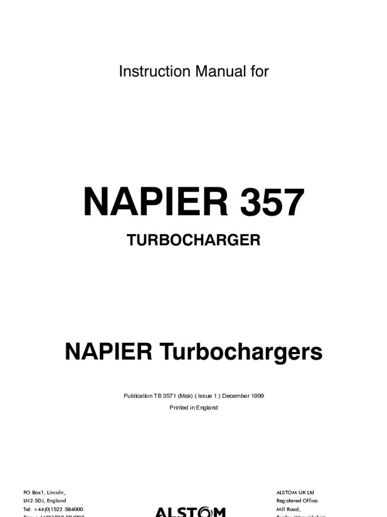 Abb Turbocharger Manual