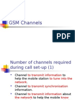 7.GSM Channels