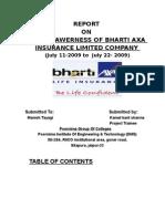 Bharti Axa Report