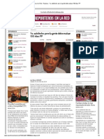04-01-2014 'Yo, satisfecho_ pero la gente debe evaluar 100 días_ PP'