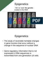 epigenetics defnition