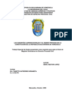 Garantias Jurisdiccionales y Debido Proceso en Vzla