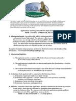 The Janet E. Shaffer Memorial SOAR Instructions