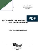 Hurtado, Ciro - Geografia Del Tahuantinsuyu