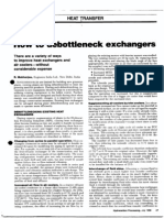 How to Debottleneck Exchangers