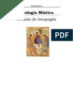 Teologia Mistica, Areopagita Dionisio