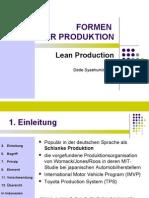 Lean Produktion