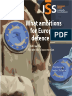 What Ambitions for European Defence in 2020?