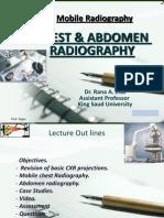 Chest & Abdomen Mobile Radiography-- Dr.rana