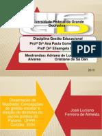 Concepções de gestão escolar e eleição de diretores da escola pública