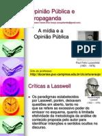 O papel da mídia na formação da Opinião Pública