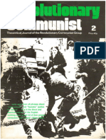 Revolutionary Communist #2 - Positions of the Revolutionary Communist Group