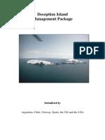 Deception Island Management Package