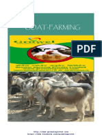 Goat Farming Project Report for bank loan(100+4) unit - Animal