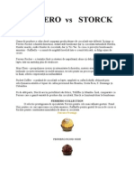 marketing - compararea a doua firme de ciocolata