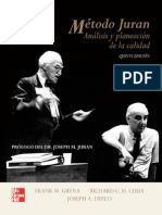 Método Juran Análisis y planeación de la calidad.pdf