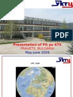 Presentation of PG Po KTS
