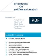 Market and Demand Analysis Chahar