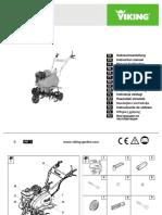 Motosapa Viking Vh660 Instructie