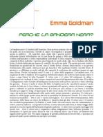 Emma Goldman - Perche' la bandiera nera?