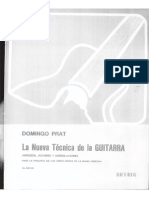 Domingo Prat - La nueva técnica de la guitarra