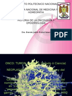 Historia de La Oncologia