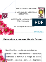 Principios de diagnostico y deteccion de cancer