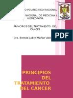 Principios de Tratamiento Del Cancer