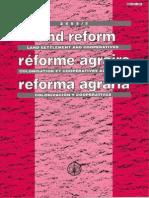 Reforma agraria_artículos varios
