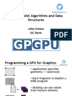 03 Data Parallel Algorithms and Data Structures