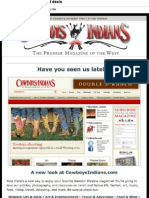 Cowboys and Indians Magazine newsletter No. 3
