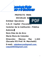 proyecto Eje Caie
