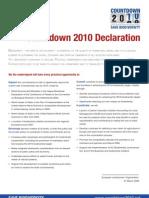 Declaration Elo