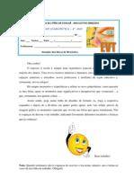 (Microsoft Word - ficha de avaliação diagnóstica 6 ano)