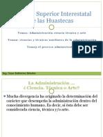 Importancia,cienciasytecnias,procesoadministrativo
