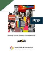Informe de Derechos Humanos y Discriminación 2006 - muMs