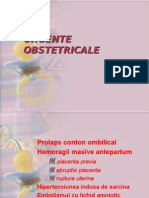 URGENTE  OBSTETRICALE