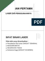 Sifat Sinar Laser