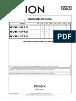 Denon AVR-1613,1713,1723
