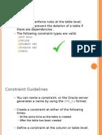 Constraints in Sql_Gvs