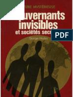 Serge Hutin - Gouvernants Invisibles et Societes Secretes