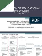 Modul 9 - Selection of Educational Strategies