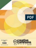 Creative Commons Newsletter