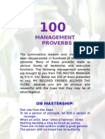 100 Management Proverbs-2bhs