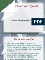 Finanzas de Los NegociosMIGUEL ANGEL
