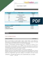 CBSE Math Syllabus (2009-2010) - Class 9